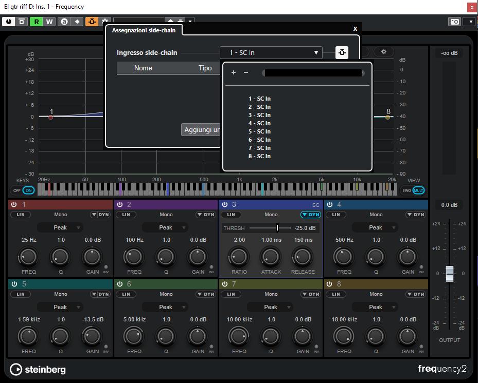 Steinberg Cubase 11 daw software rec mix mastering edit test pierluigi bontempi pro audio studio audiofader Frequency 2