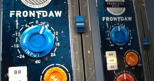 United Plugins FrontDaw plug-in audio mixing software audiofader