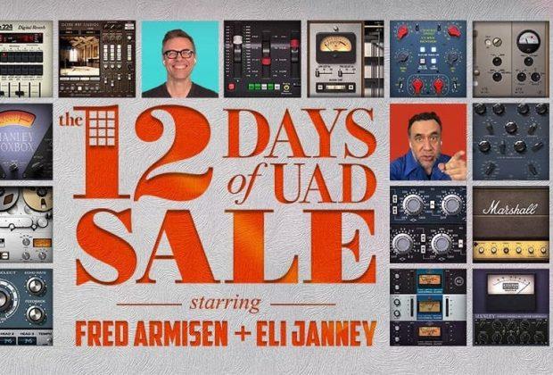 Universal Audio uad plug-in sconti sale virtual mix audio rec mastering studio midiware audiofader