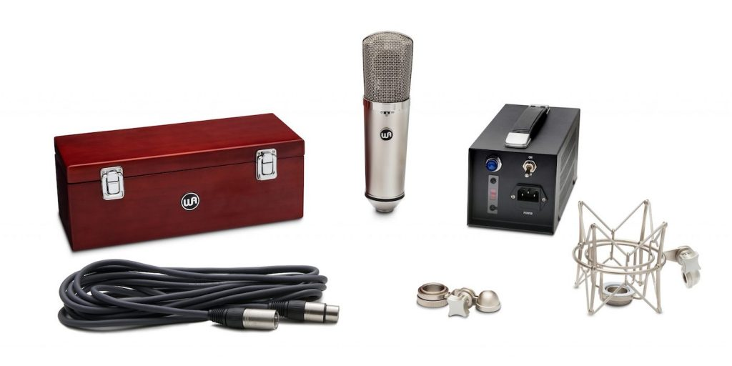 Warm Audio WA-67 u67 mic hardware pro audio studio rec midiware audiofader