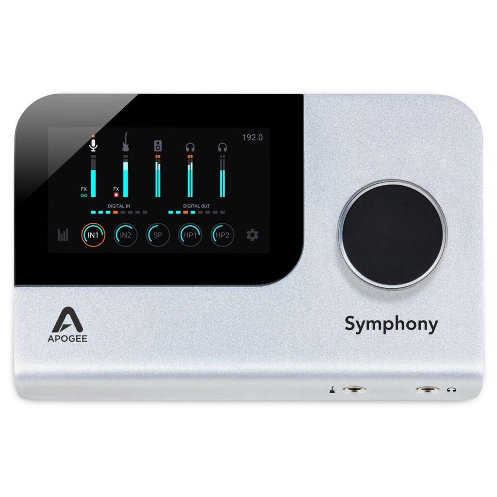 Apogee Symhpony Desktop recensione audiofader andrea scansani
