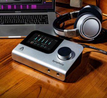 Apogee Symhpony Desktop interfaccia audio pro soundwave recensione test audiofader andrea scansani