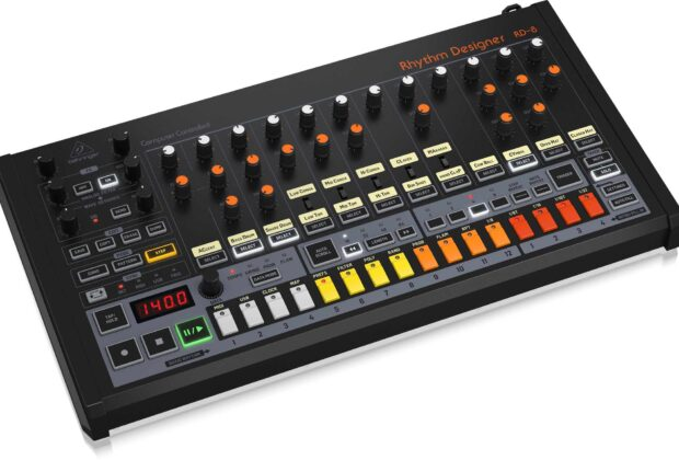 Behringer rd8 hardware synth sintetizzatore music producer drum machine update aggiornamento firmware prezzo audiofader