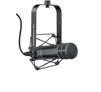 Electro-Voice RE20 mic microfono broadcast voce radio tv rec recording black leading tech audiofader