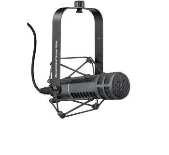 Electro-Voice RE20 mic microfono broadcast voce radio tv rec recording black leading tech audiofader
