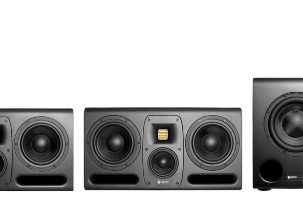 HEDD Audio speaker MK2 monitor sub audio pro studio hardware audiofader news