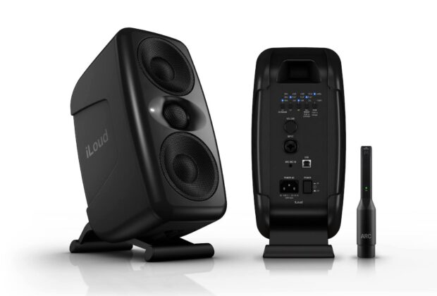 Ik multimedia iloud mtm monitor audio studio pro home project mogar music luca pilla test audiofader