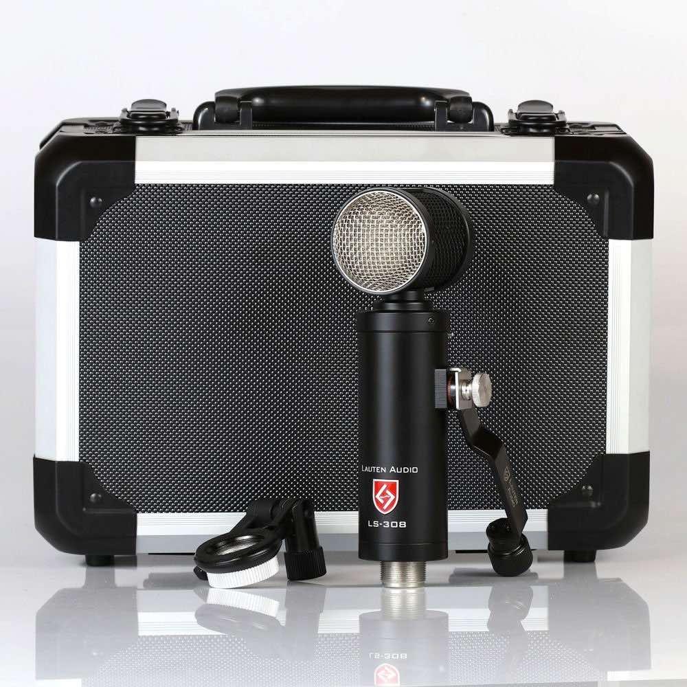 Lauten Audio LS-308 microfono side address studio live broadcast tedes audiofader prezzo