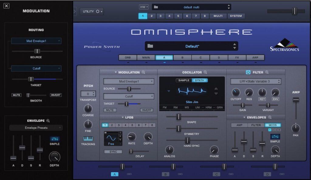 Spectrasonics Omnisphere 2.6 vincenzo bellanova audiofader prezzo