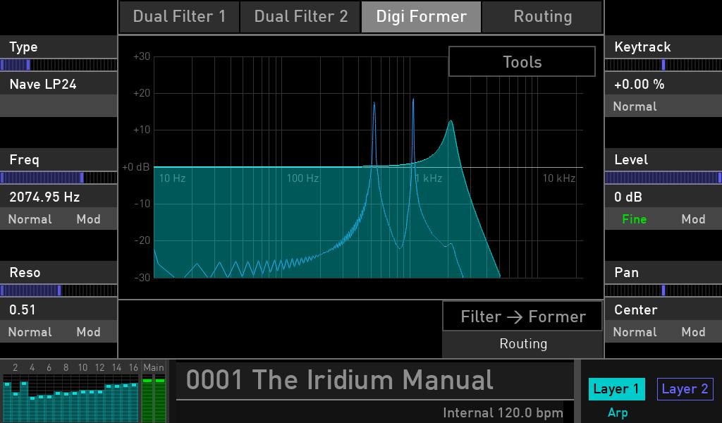Waldorf Iridium review luca pilla audiofader