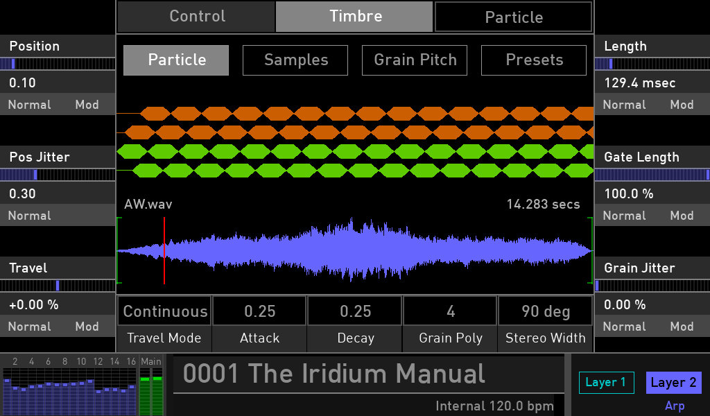 Waldorf Iridium granular synth recensioni luca pilla audiofader