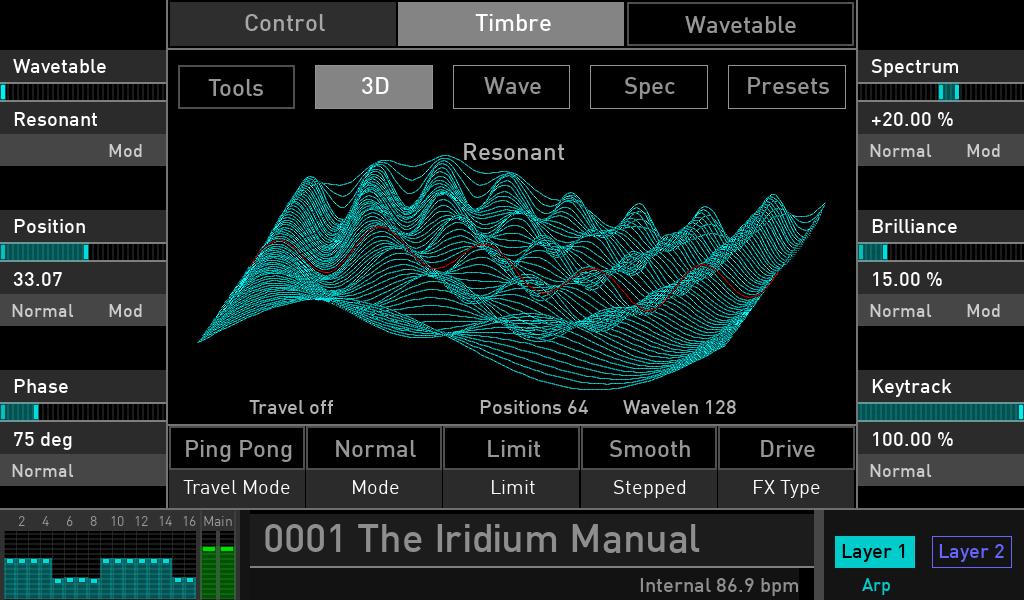 Waldorf Iridium opinioni luca pilla audiofader