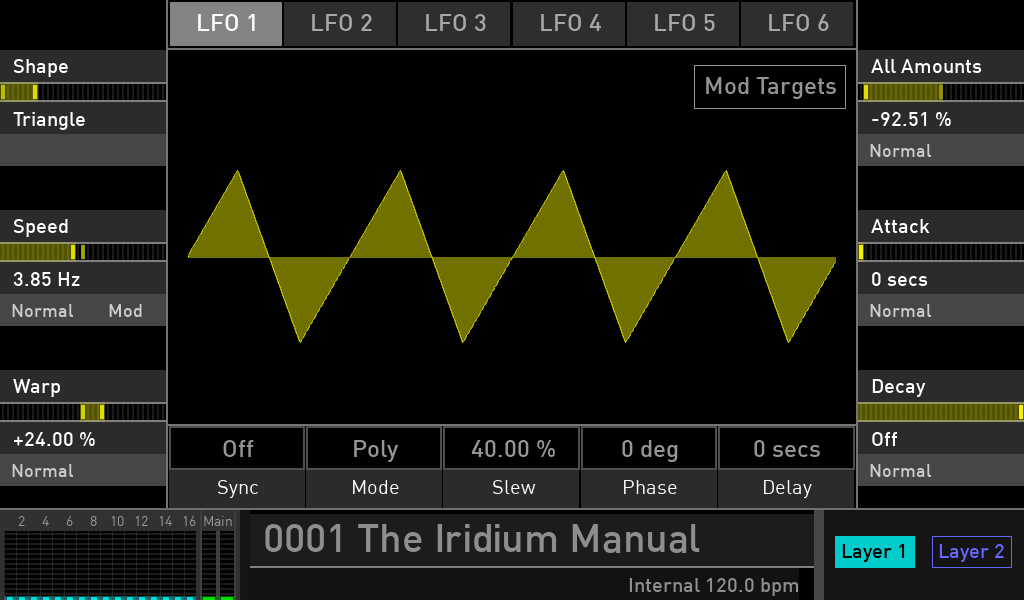 Waldorf Iridium synth