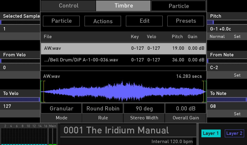 Waldorf Iridium sampler review luca pilla audiofader