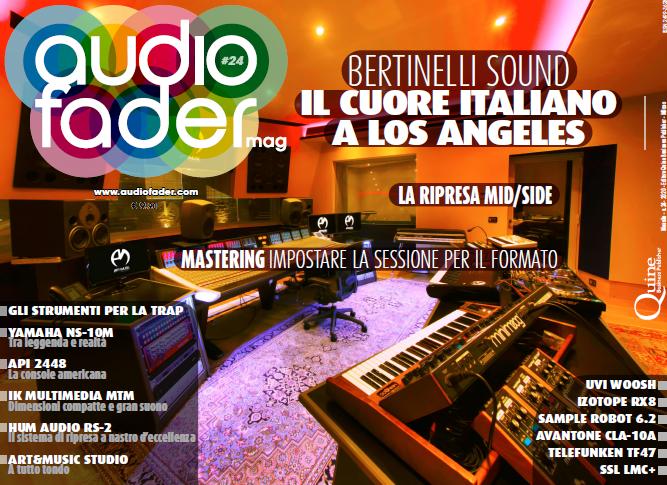Audiofader #24 - rec, mix, mastering, produzione e recensioni