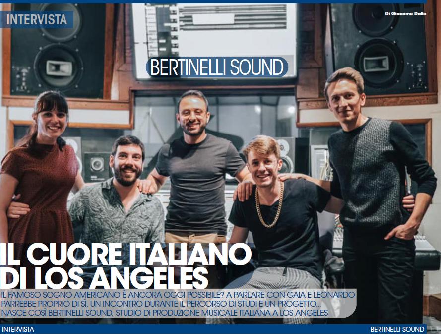 audiofader 24 Bertinelli sound