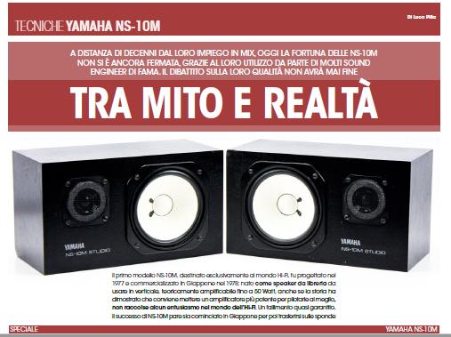 audiofader 24 Yamaha NS-10M Avantone CLA 10
