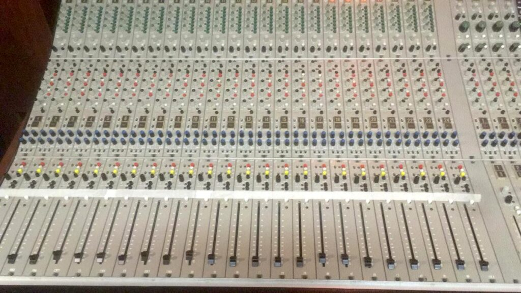 acustica audio blond mixer ARGENTINI EP6000 audiofader opinions luca pilla
