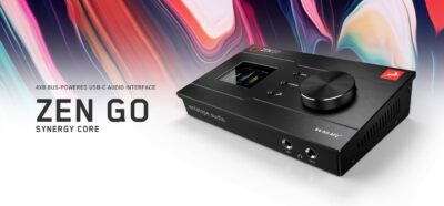 Antelope Auzio Zen Go Synergy Core hardware interfaccia audio pro home audiofader