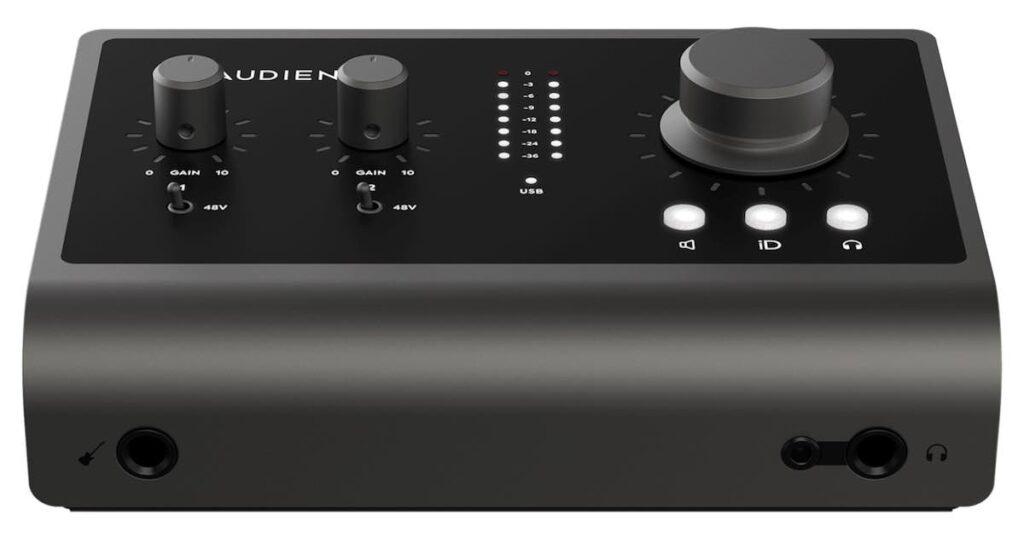 Audient iD14 mk2 interfaccia audio home recording studio leading tech audiofader prezzo
