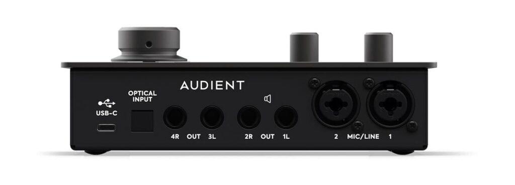 Audient iD14 mk2 interfaccia audio home recording studio leading tech audiofader