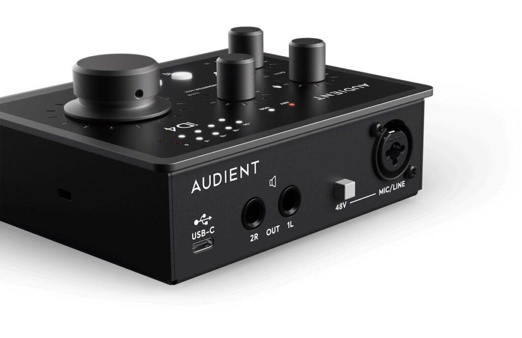 Audient iD4 mk2 interfaccia audio home recording studio leading tech audiofader prezzo
