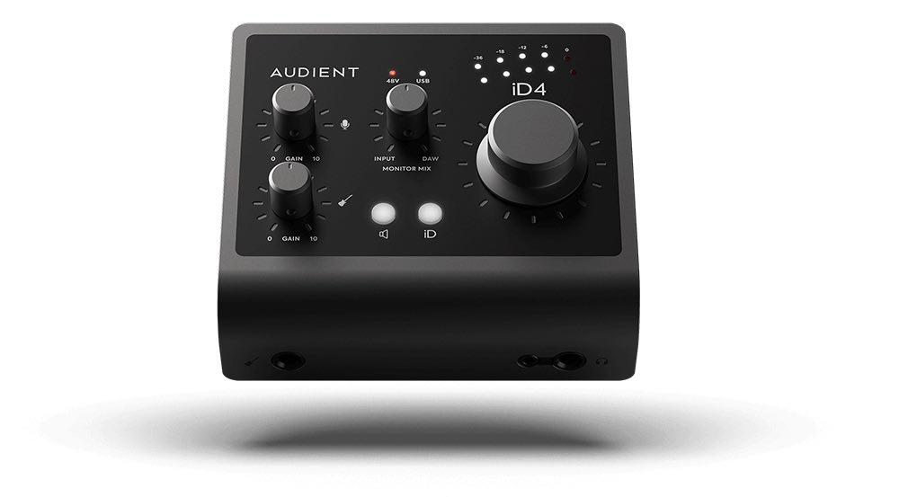 Audient iD4 mk2 interfaccia audio home recording studio leading tech audiofader