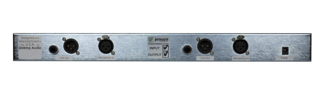 Daking Mic Pre IIT outboard rec preamp recording studio pro audio rack audiofader xlr