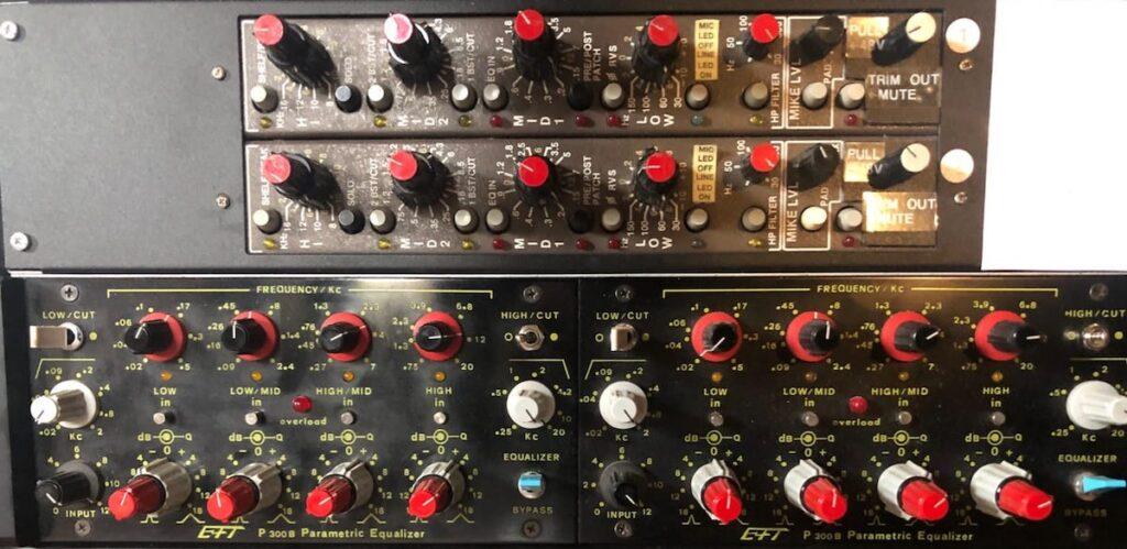 acustica audio blond EFT P300 acustica audio blond audiofader marco sonzini luca pilla