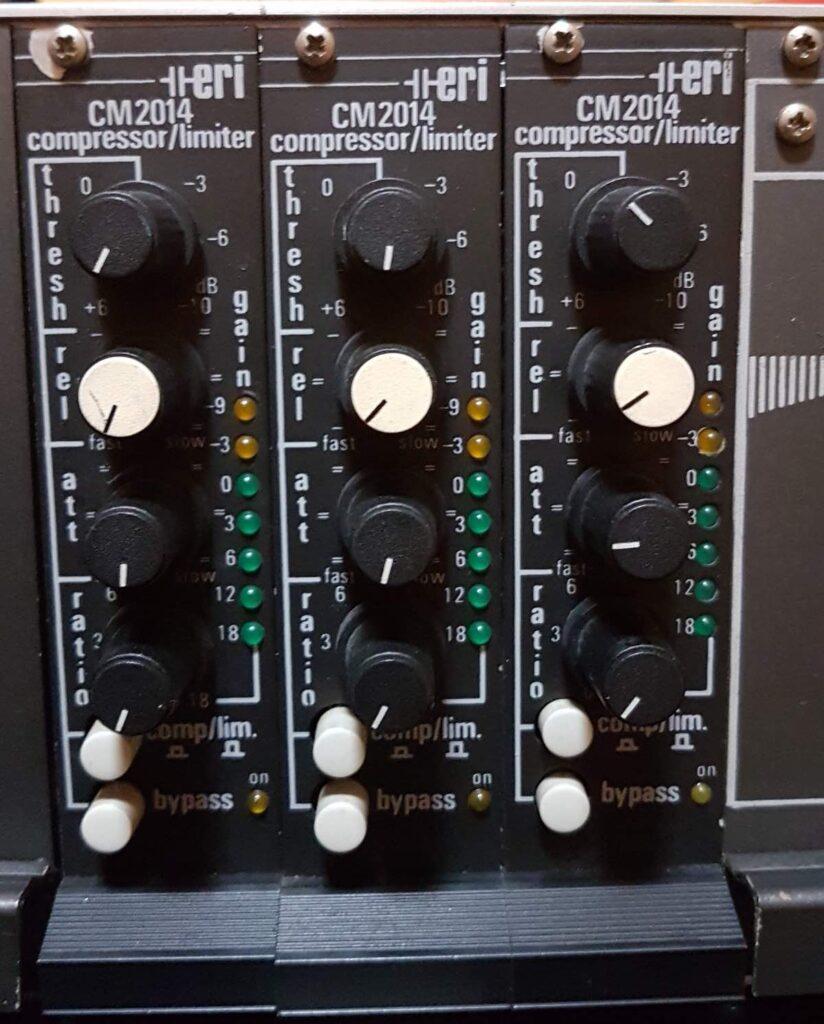 acustica audio blond ERI CM2014 broadcast audiofader test luca pilla