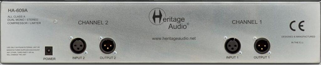 Heritage Audio HA-609A 33609 review opinions price prezzo audiofader andrea scansani midimusic
