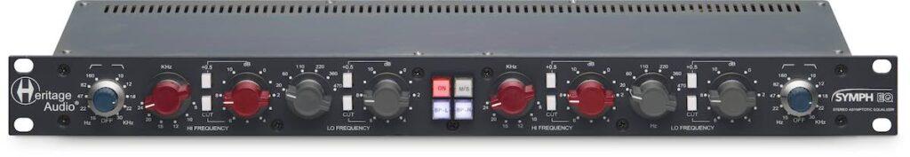 Heritage Audio Symph EQ hardware outboard rack rec mix midi music audiofader