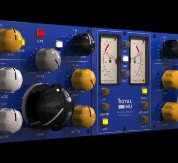 McDSP RoyalMu royalq software virtual mixing eq plug-in audiofader