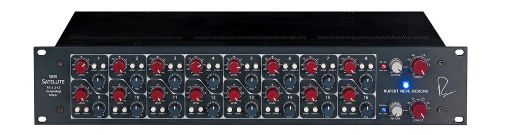 RND Satellite 5059 rupert neve audio pro studio hardware outboard summing sommatore mixer midiware audiofader