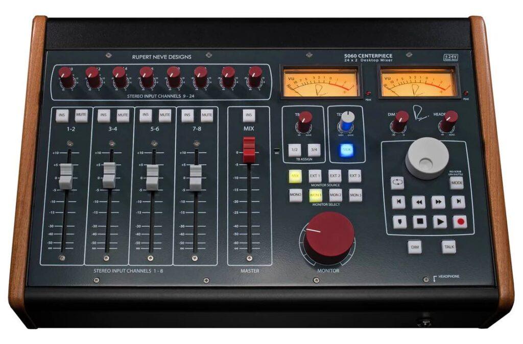 RND centerpiece 5060 rupert neve audio pro studio hardware outboard summing sommatore mixer midiware audiofader