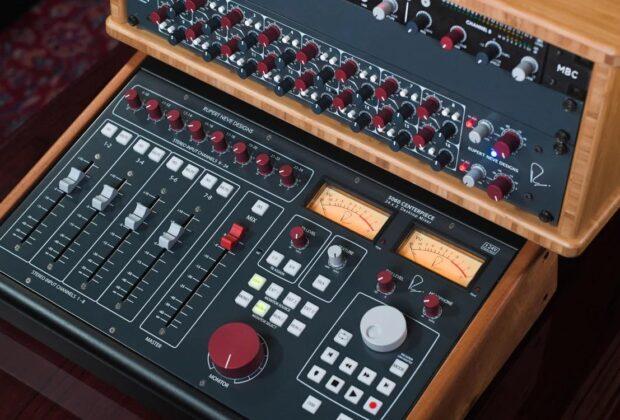RND Centerpiece Satellite rupert neve audio pro studio hardware outboard summing sommatore mixer midiware audiofader