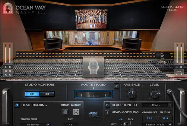 Waves NX Ocean Way Nashville studio recording mixing plug-in audio pro software audiofader