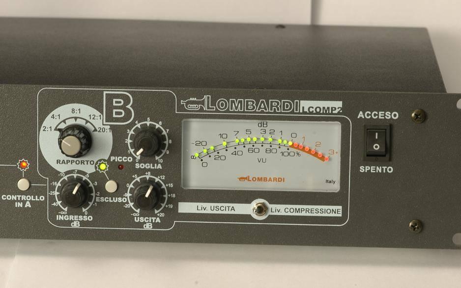 acustica audio blond Lombardi comp ottico opinions audiofader luca pilla