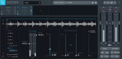 iZotope Ozone 8 software tutorial mastering andrea scansani audiofader