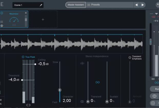 iZotope Ozone 8 software tutorial mastering andrea scansani audiofader
