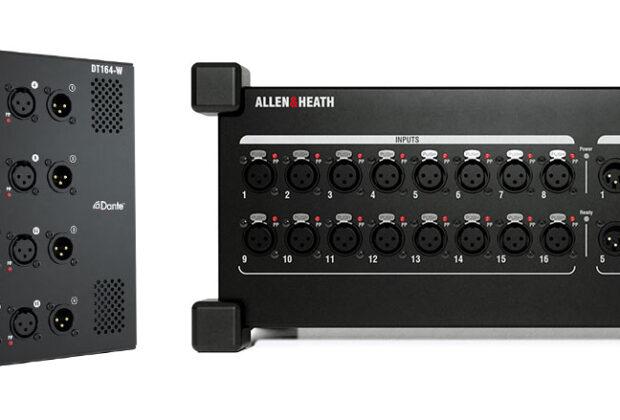 Allen&Heath DT Preamp Control mixer expander software app exhibo audiofader dt164w dt168