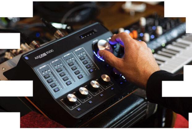 Arturia Audiofuse firmware update aggiornamento software interfaccia audio midiware audiofader