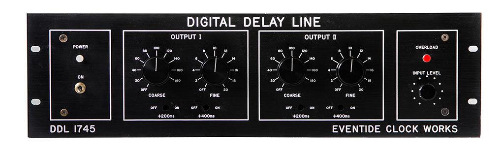 Eventide DDL 1745 delay line hardware vintage studio live mogar audiofader