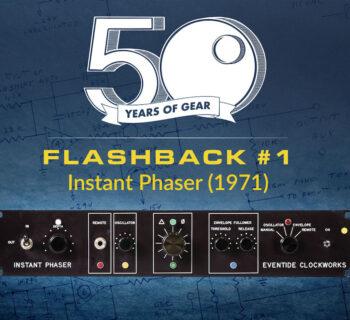 Eventide instant phaser DDL 1745 delay line hardware vintage studio live mogar audiofader