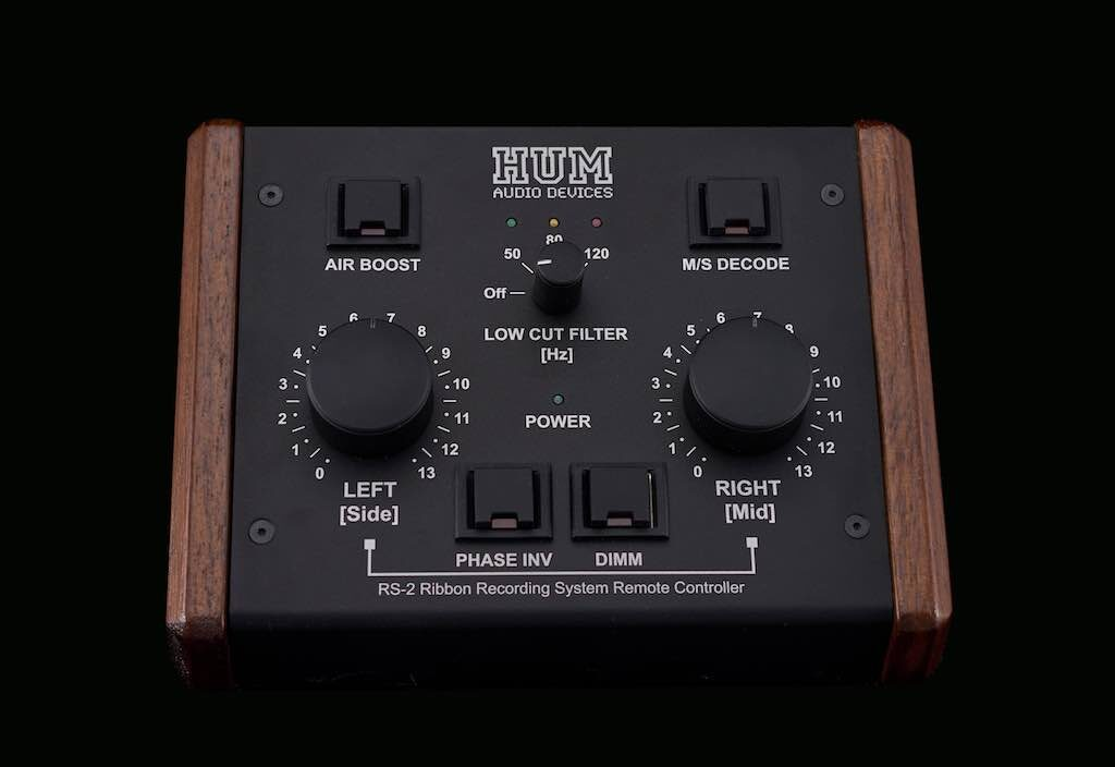Hum Audio RS-2 controller stereo ribbon luca pilla opinion audiofader