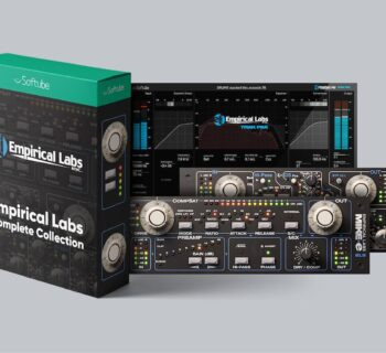 Softube Empirical Labs Complete Collection Mike-E Comp Lil FrEQ Trak Pak for Console 1 midiware audiofader