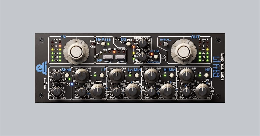 Softube Empirical Labs Complete Collection Lil FrEQ midiware audiofader