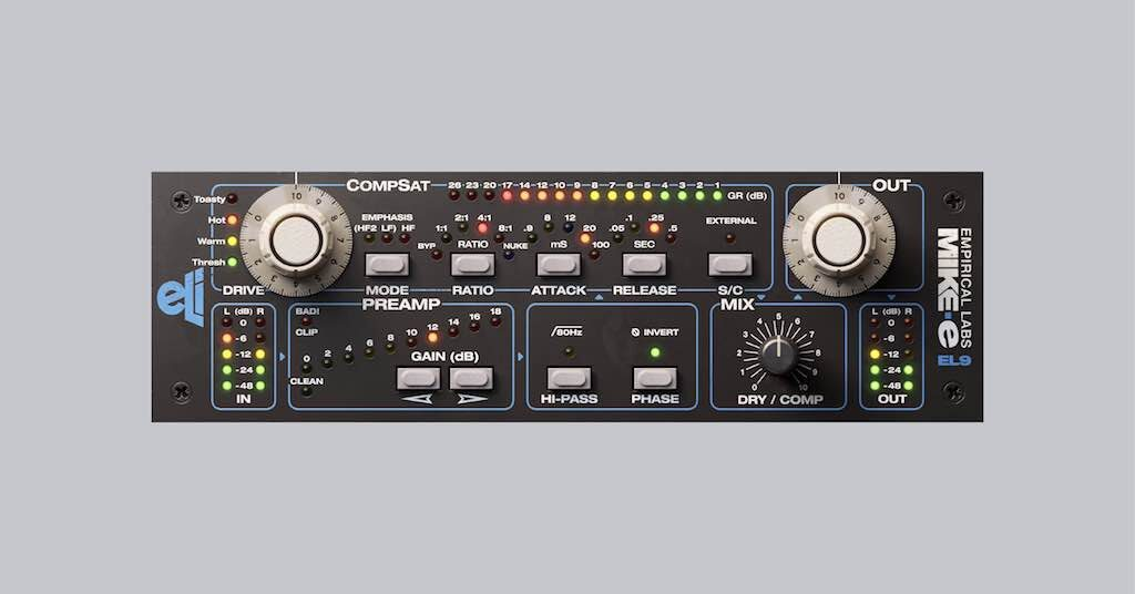 Softube Empirical Labs Complete Collection Mike-E Comp midiware audiofader