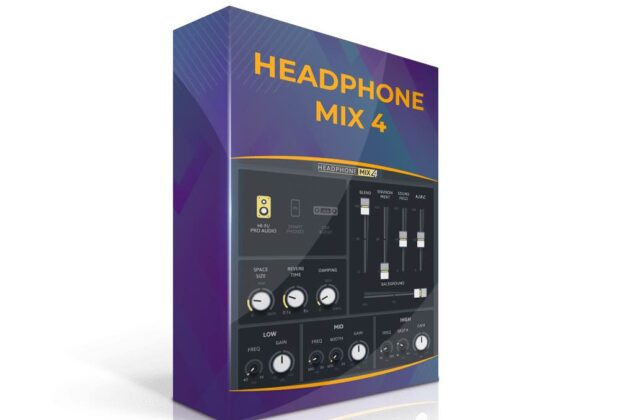 Soundmagic Headphone Mix 4 plug-in audio software audiofader