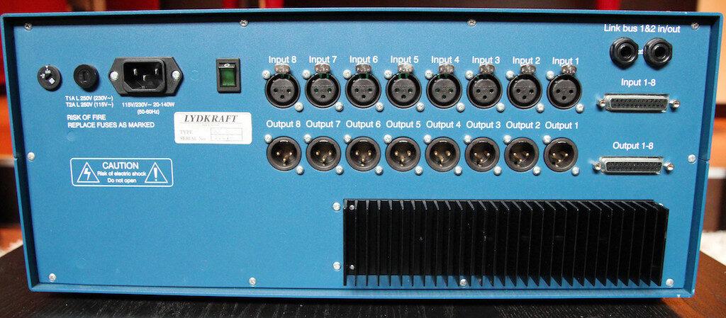Tube-Tech RM8 rack outboard hardware studio audio pro test recensione mattia panzarini effetto note audiofader